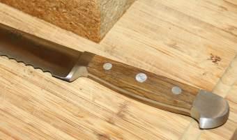 Holzgriff Brotmesser Güde