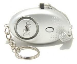 Schlüsselanhänger-Alarm Selbstverteidigung