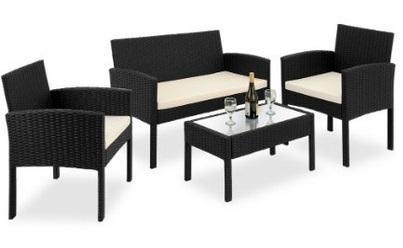 gartenm bel zum entspannen feiern auf dem balkon. Black Bedroom Furniture Sets. Home Design Ideas