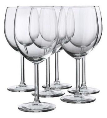 Ikea Weingläser weingläser test vergleich die besten gläser für rotwein und weißwein