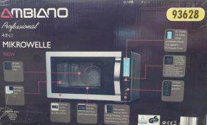Aldi Mikrowelle Test Ambiano