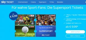 Streaming Dienste Testbericht: Sky Ticket