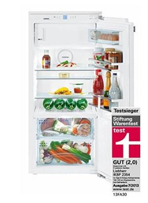 Einbaukühlschrank Test Gefrierteil