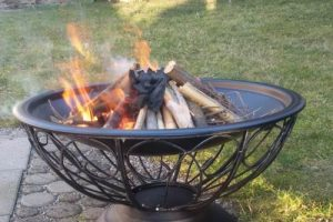 Feuerschale Feuerkorb Test