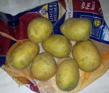 Kartoffeln für Pommes
