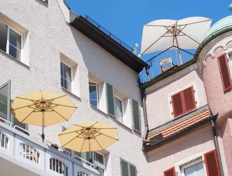 Sonnenschirm fuer Balkon