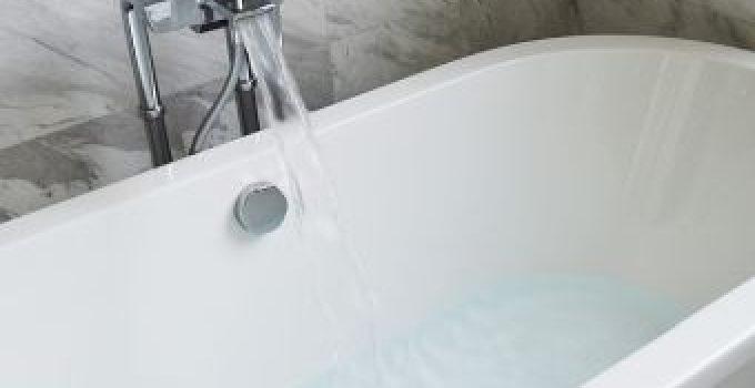 Wasser sparen baden